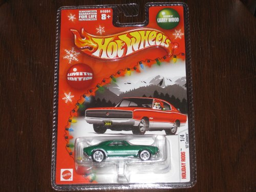 2004 Hot Wheels Holiday Rods '67 Green Camaro - 1