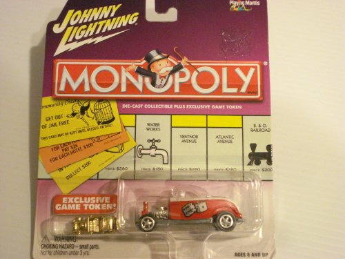 Johnny Lightning Monopoly Dice/Money '32 Ford Hi Boy