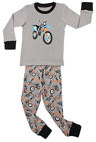 "Elowel Boys ""Motorcycle"" 2 Piece Pajama Set 100% Cotton - Size 10 front-936715"