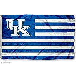 Kentucky Wildcats UK Alumni Nation Stripes Flag
