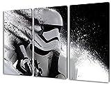Stormtrooper Star Wars, 3-teiliges Leinwandbild (120cm x...