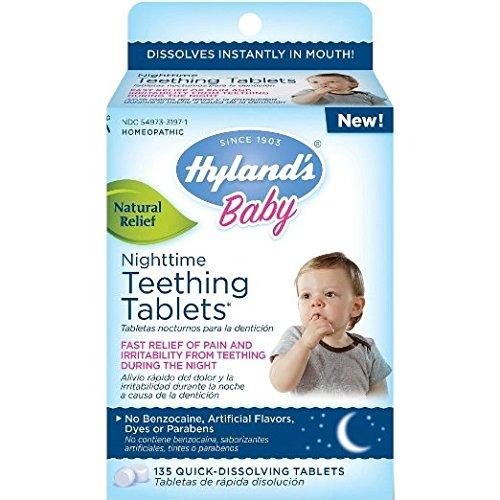 awardwiki hyland 39 s baby nighttime teething tablets
