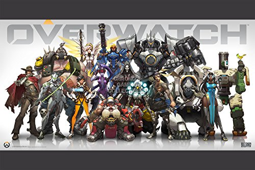 "CGC Overwatch Poster grande, per PS4, XBOX One EXT090-PC, Carta, 24"" x 36"" (61cm x 91.5cm)"