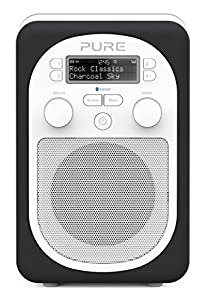 Pure Evoke D2 Mio Portable DAB Digital/FM Radio with Bluetooth - Charcoal