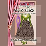 A String of Murders: A Dressed for Death Mystery, Book 2 | Darlene Franklin