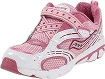 Saucony Blaze A/C Running Shoe (Toddler/Little Kid),Rose/White,6 M US Toddler