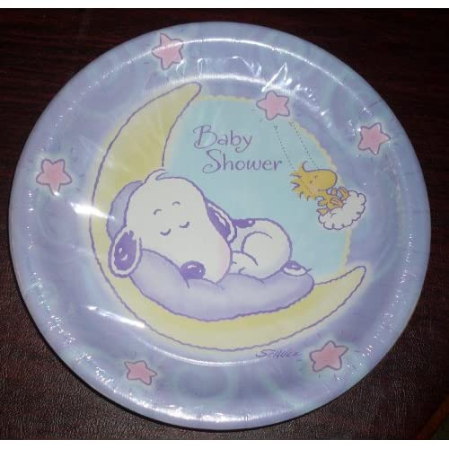 large paper plates for baby shower childrens party plates baby