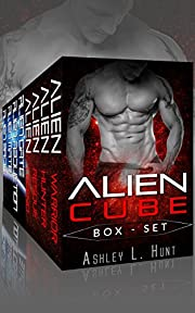 Alien Romance Box Set: Alien Cube Complete Series (Books 1-4): A SciFi Alien Warrior Invasion Abduction Romance