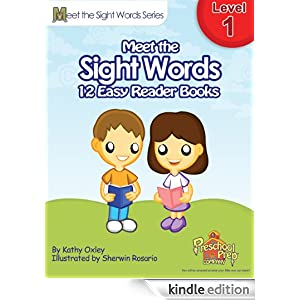 Meet the Sight Words Level 1 Easy Reader Books (set of 12 ...