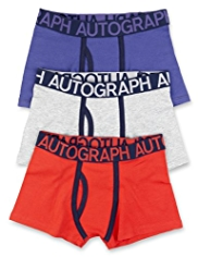 3 Pack Autograph Cotton Rich Assorted Trunks