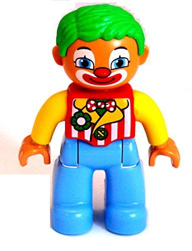 Lego Duplo Clown güne Haare blaue Beine Neues Modell 2013 Neu
