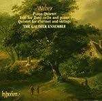 Weber : Piano Quartet, Trio for flute...