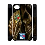 NHL New York Rangers Iphone 4 4S Case Dual Protective Polymer Unique Designed NY Rangers Iphone 4/4S Cases at Amazon.com