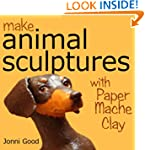 Make Animal Sculptures with Paper Mac...
