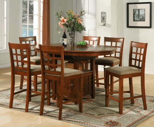 Best Buy Larchmont Butterfly Leaf Pub Table Set By Ashley Furniture ...
