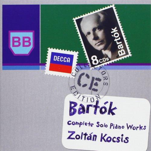 Bartok complete solo piano works 028947823643 toolfanatic com