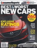 img - for Consumer Reports Best & Worst New Cars 2014 book / textbook / text book