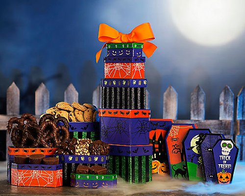 Rocky Mountain Chocolate Factory Halloween Tower