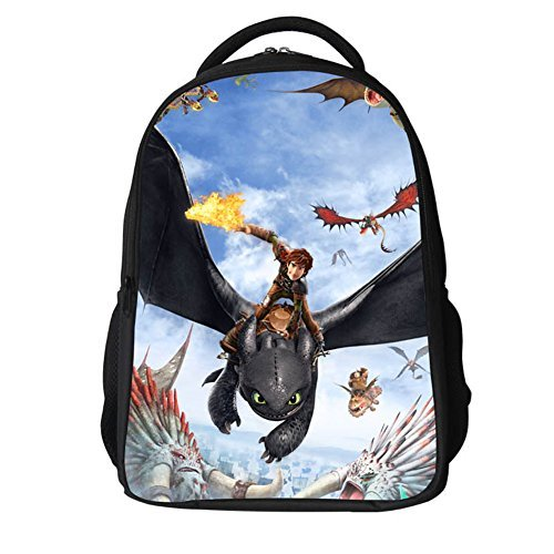How to Train Dragon Bag Protagnist Cosplay Polyester Waterproof Backpacks Style C