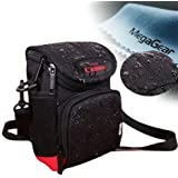 MegaGear ''Ultra Light'' Protective Black Camera RainProof Case , Bag for Canon Powershot SX520 HS, Canon Powershot SX530 HS, Canon PowerShot SX400 IS, Canon PowerShot Sx410 IS