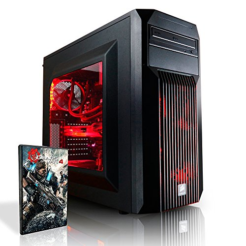 Megaport Gaming PC Intel Core i7-6700K • GeForce GTX1070 8GB • 250GB SSD Samsung 750 Evo • 16GB DDR4 2400 • Windows10 • 1TB • WLAN gamer pc computer desktop pc high end gaming pc gaming computer