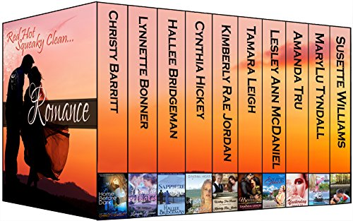 Red Hot Squeaky Clean ROMANCE collection (Boxed Set): Ten Shades of Inspirational Romance