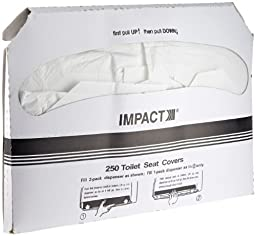 Impact 1111 Toilet Seat Cover, Box Size 10-1/2\