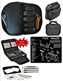 WALTHER-PPQ-TEKMAT-WITH-VAS-BLACK-OPS-DOUBLE-GUN-RANGE-BAG-21-PC-PISTOL-CLEANING-KIT