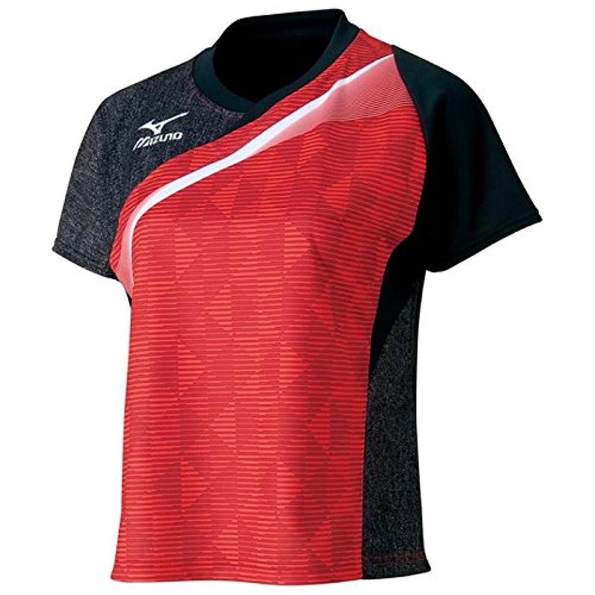 [해외] 미즈노(MIZUNO) 탁구 women's 게임 셔츠 (WOMENS) 82JA6701