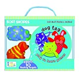 Soft-Shapes-Play-to-Learn-Bath-Time-Games---Dog-Tag-Squirt-10-Floating-Targets