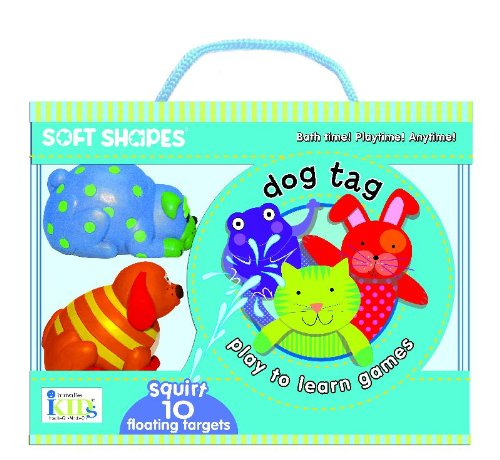 Innovative Kids Soft Shapes Play-To-Learn Dog Tag Game