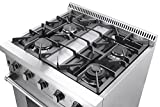 30-Thor-Kitchen-Free-Standing-4-burner-gas-range-LP-Conversion-Kit-bundle
