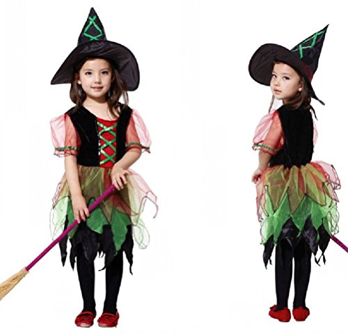 Purplebox Cosplay Halloween Costume Magic Witch Little Witch Cloak