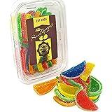 Boston Assorted Fruit Slices - Candy Fruit Jelly Slices unwrapped bulk (20oz) (Tamaño: 20oz)