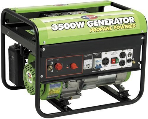 All Power America APG3535CN 3,500 Watt 6.5 HP OHV Propane Powered Generator