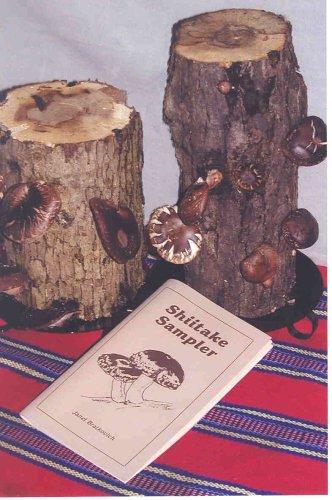Ma & Pa Shiitake Mushroom Log Kit with Shiitake Sampler Cookbook