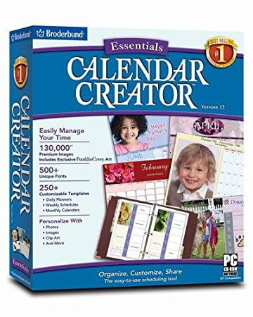 Calendar Creator Version 12 Essentials
