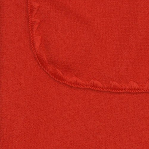 "Disana 100% Merino Boiled Wool Blanket 55x80"" Made in Germany (Red)"