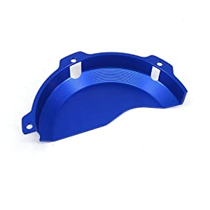 JFG RACING CNC Aluminum Billet Blue Engine Case Clutch Cover Guard Protector For EXC 250 EXC 300 2009-2016 250SX 2009-2015