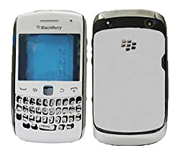 Blackberry Curve 9360 Full Housing Body Panel Faceplate White FREE SIM ADAPTER