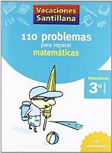 Vacaciónes Santillana 110 Problemas Para Repasar Matemáticas 3 PriMaría