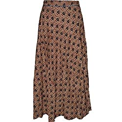 Ali Colours Printed Wrap Around Skirt for Women