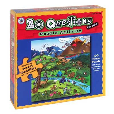 20 Questions Puzzle Activity