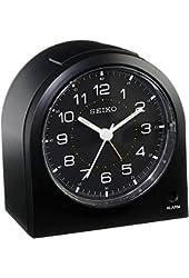Seiko QHE085KLH Alarm Clock - 3 in. Wide