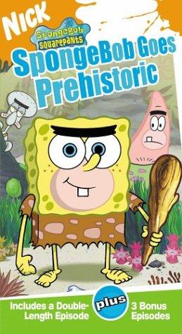 Spongebob Squarepants - Spongebob Goes Prehistoric [VHS] - 1