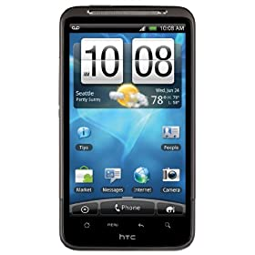 HTC Inspire 4G Android Phone, Black (AT&amp;T)