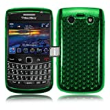 BLACKBERRY 9900 BOLD GREEN GEL CASE / COVER/ SKIN