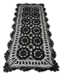 Handmade Vintage Crochet Lace Table Runner place mate Tablecloth. 100% Cotton.