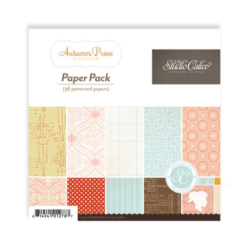 Autumn Press 6X6 Paper Pad (Studio Calico)