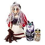 Baba Yaga Nesting Dolls Set of 3pcs M...